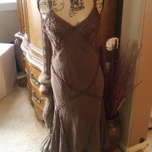 Max studio 100% silk dress.